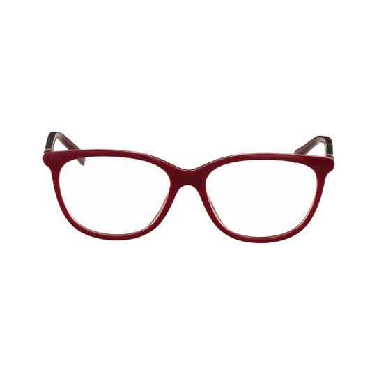Óculos de Grau Ana Hickmann - Vermelho - Compre Agora   Zattini 653d50ec72