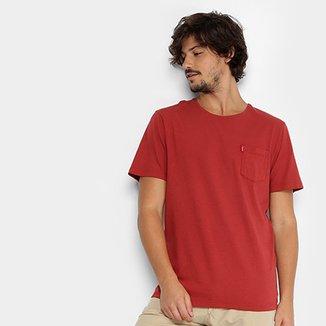 cba385eb88 Camiseta Redley Gola Careca Básica Bolso Masculina