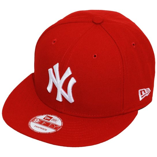 527416cfd061f Boné New Era Aba Reta Snapback Mlb Ny Yankees Basi - Compre Agora ...