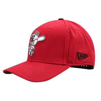 965c30a654e9d Boné New Era MLB Cincinnati Reds Aba Curva 940 Hp Sn Basic Coop
