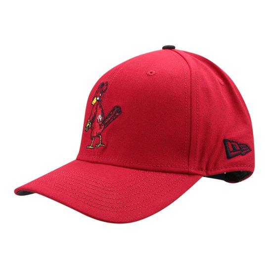 Boné New Era MLB Saint Louis Cardinals Aba Curva 940 Basic - Compre ... 1f94f001d33