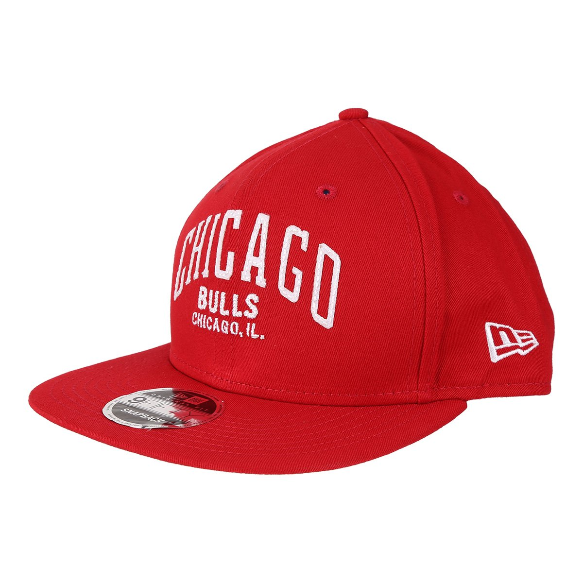 Boné New Era NBA Chicago Bulls Aba Reta 950 OF Af SN Lic2144 Fa17 Sc cf956699405