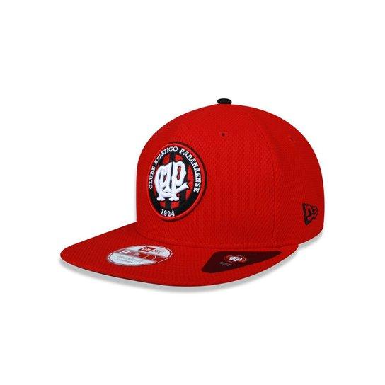 150a50d7db Bone 950 New Era Fit Atletico Paranaense Futebol - Vermelho