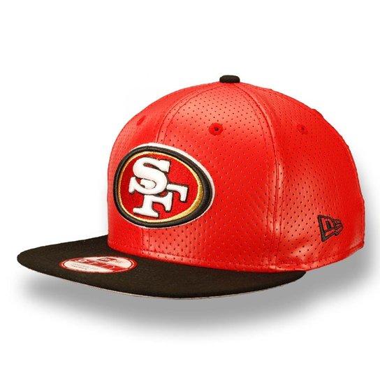 c10116457225d Bone 950 New Era Fit San Francisco 49ers NFL - Vermelho - Compre ...
