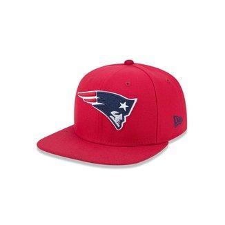 f5c80924f889f Boné 950 Original Fit New England Patriots NFL Aba Reta Snapback New Era