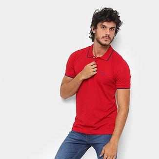 8331f67c61774 Camisa Polo Wrangler Friso Bordada Masculina