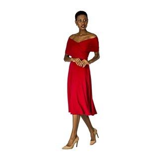 015011757 Vestido Drape Lateral Alphorria Feminino