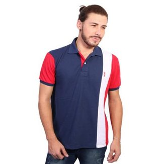 205b83f3a2 Camisa Polo Golf Club Listrada