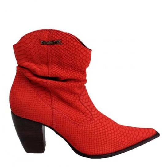 Bota Couro Dina Mirtz Country Feminina - Compre Agora  b7dabc4ffd3