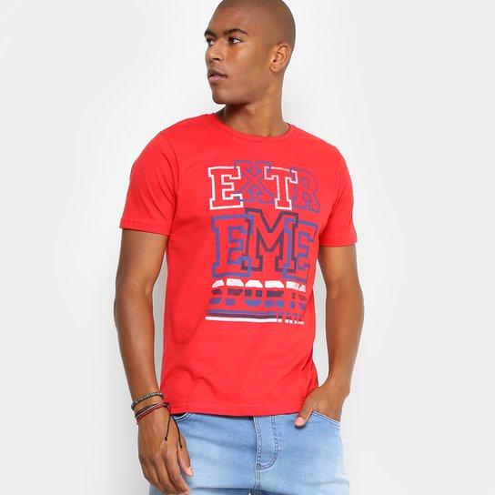 1d51dca898 Camiseta Fatal Gola Careca Extreme Masculina - Vermelho - Compre ...