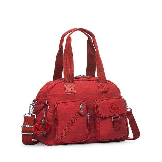 a1d4f7f22 Bolsa Kipling Handbag Defea Feminina - Vermelho | Zattini