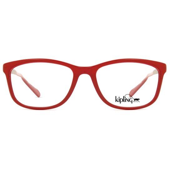 2cd0ab46869e6 Armação de Óculos de Grau Kipling KP3061 C284-51 - Compre Agora ...