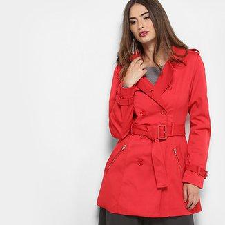 9f57ba707 Casaco Facinelli Trench Coat Feminino