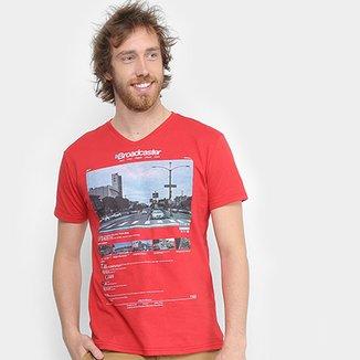 Camiseta Tigs Estampada Manga Curta Masculina e09d4a148c0