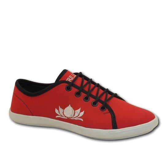 907fc425a Sapatênis Casual Trilupy Feminino - Vermelho - Compre Agora | Zattini