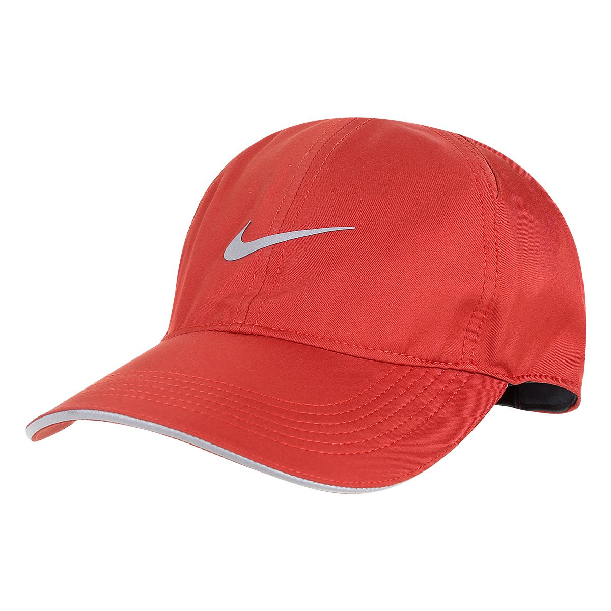 0b47823b7e37d Boné Nike Aba Curva Featherlight Run