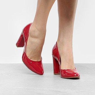 bed6bdcff1 Scarpins Mixage Feminino Vermelho - Calçados