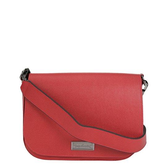 8f54748739 Bolsa Couro Luiza Barcelos Flap Logo Frontal Feminina - Compre Agora ...