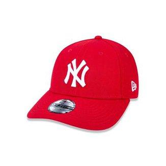 Boné 940 New York Yankees MLB Aba Curva New Era e34f2498a9b92