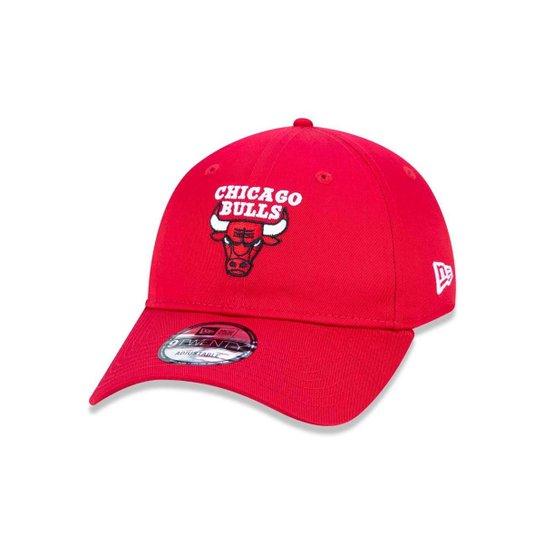 Boné 920 Chicago Bulls NBA Aba Curva Strapback New Era - Compre ... a17b4605dd1