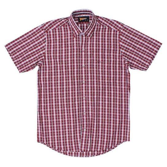 Camisa Xadrez Fast Back Masculina - Vermelho - Compre Agora  e569fe3372ec2