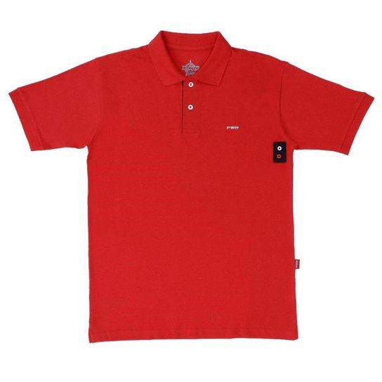 Camisa Gola Polo PBR Masculina - Vermelho - Compre Agora  2ca2ab3752c
