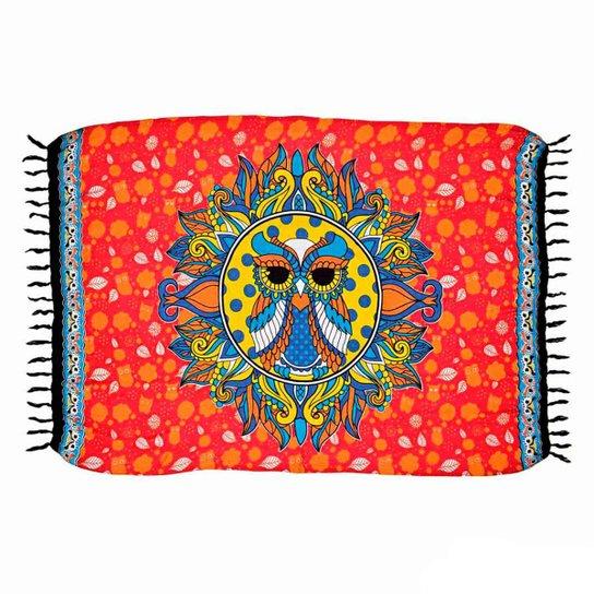 3868c7acccc6 Canga Shopping Bali Mandala Coruja - Vermelho | Zattini