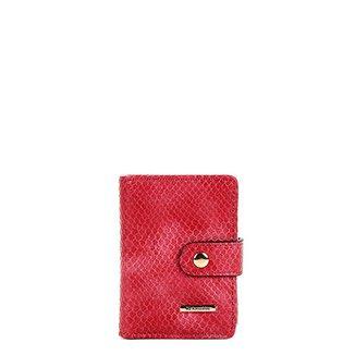 564fe5e3ec Porta Cartão Texturizado WJ Feminino