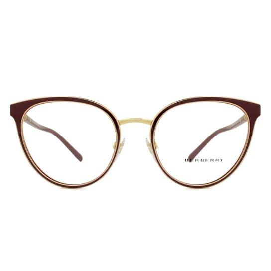 a7b95a934 Óculos de Grau Burberry Feminino - Vermelho | Zattini
