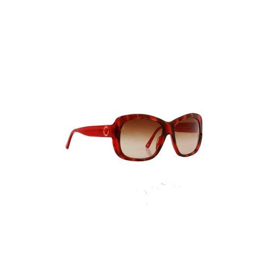 Óculos de Sol Versace 100% Proteção UV Astes Feminino - Vermelho ... ba7c2ce508