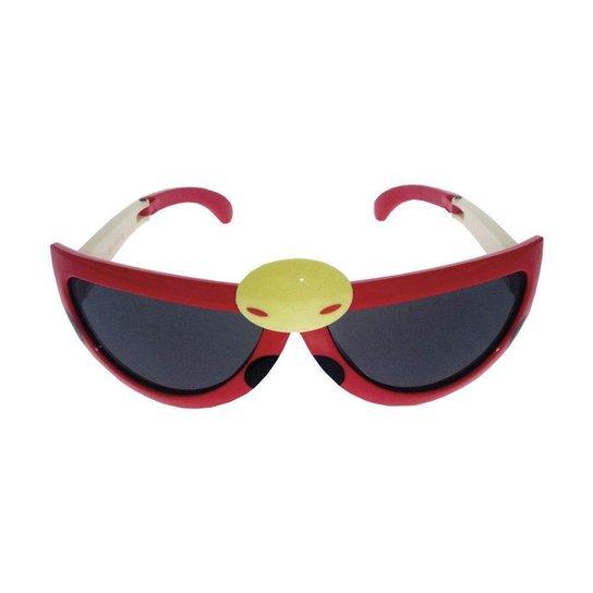 82a4877d8 Óculos de Sol Infantil Khatto Dona Joana Kids Feminino - Vermelho ...