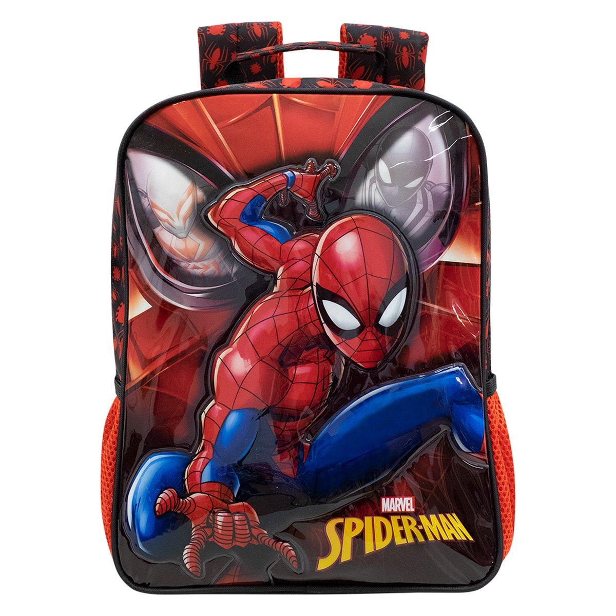 "Mochila Escolar Xeryus 16"" Spider Man"