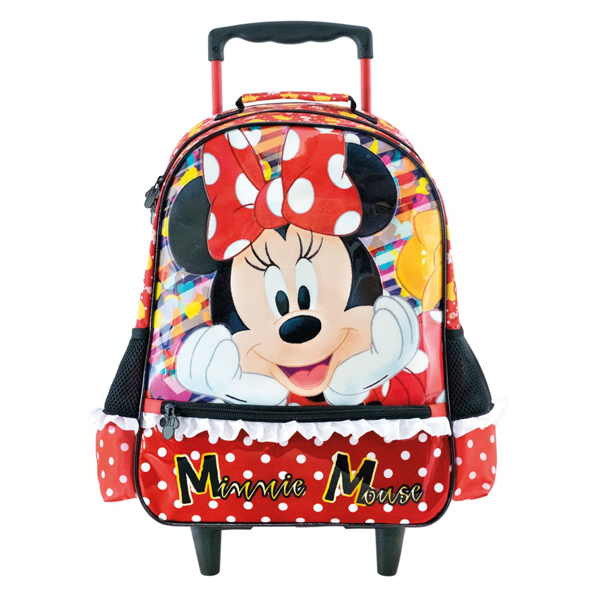 Mochila Rodinhas Xeryus Disney Minnie Mouse Escolar Feminina