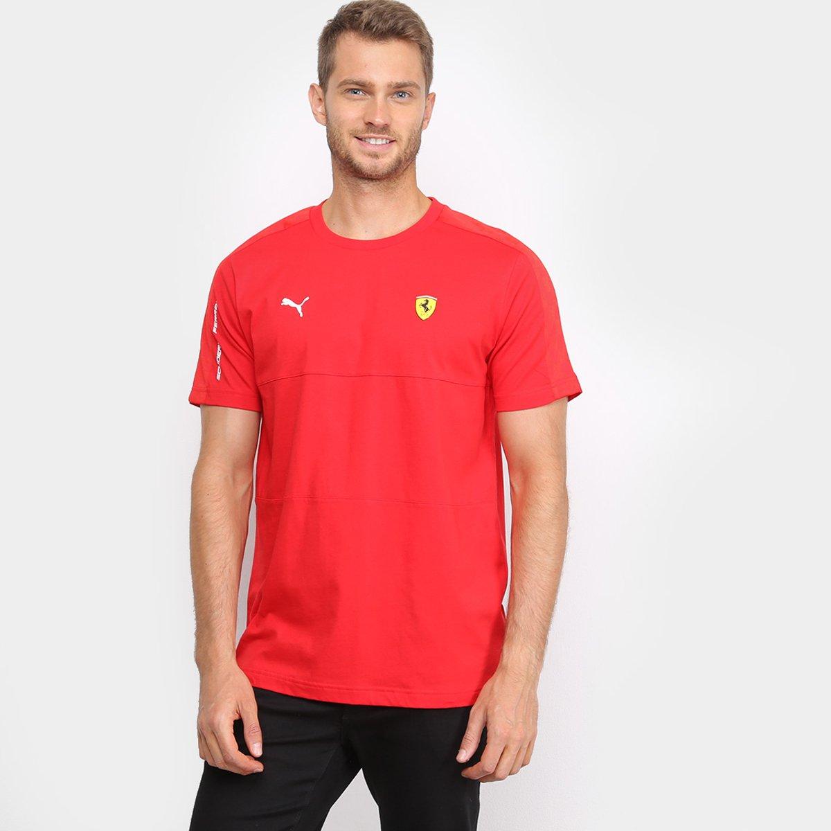 Camiseta Puma Ferrari T7 Masculina