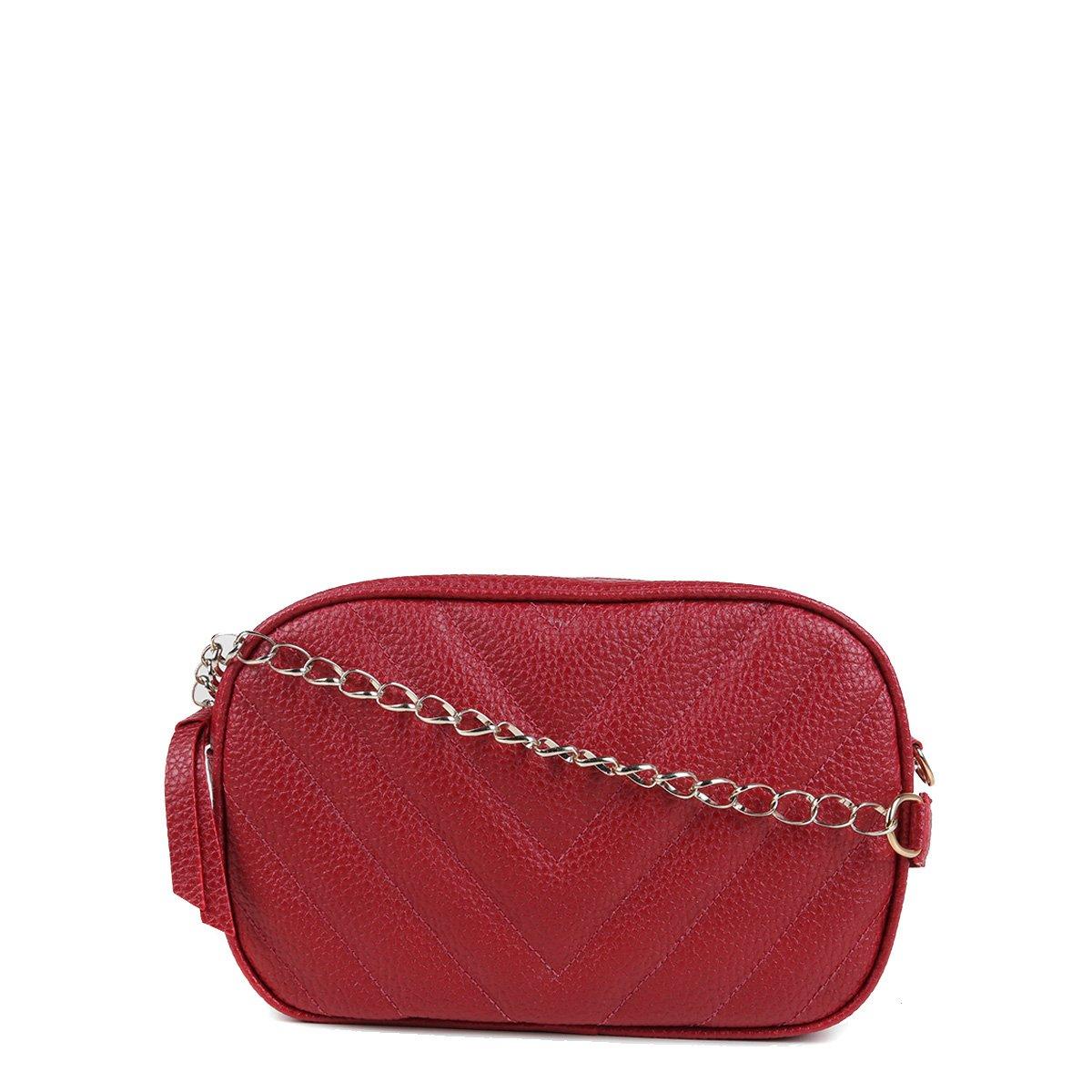 Bolsa Shoestock Crossbody Box Matelassê Feminina