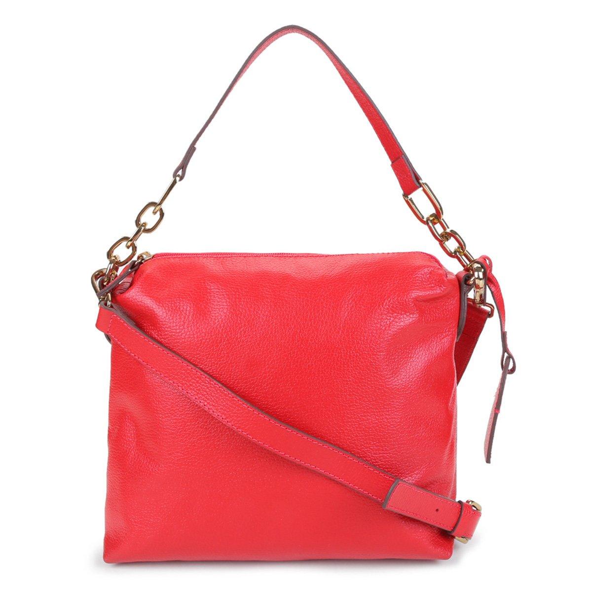 Bolsa Couro Shoestock Soft Bag Corrente Feminina