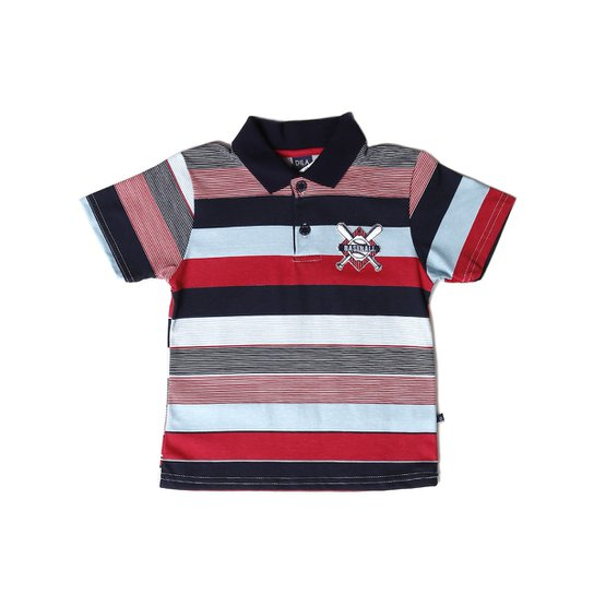 087a8bc7e3 Polo Infantil Para Menino Vermelho - Compre Agora
