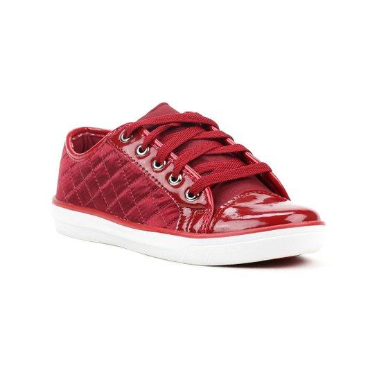 abec2882129 Tênis Casual Feminino Autentique Vermelho - Compre Agora