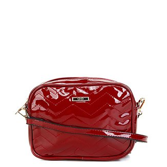 b8d797d9c Bolsa Gash Mini Bag Verniz Alça Transversal Feminina
