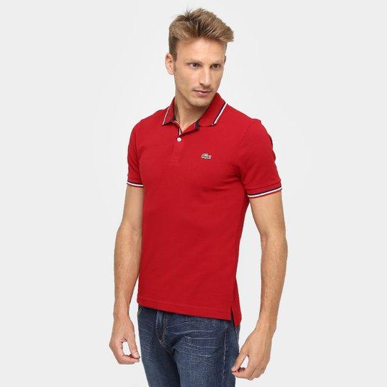 eeca9909db Camisa Polo Lacoste Live Piquet Frisos - Compre Agora