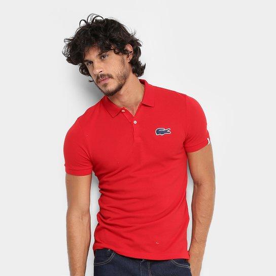 2449dee7aeb4b Camisa Polo Lacoste Live Piquet Masculina - Compre Agora   Zattini