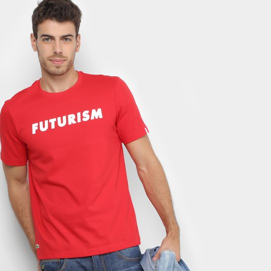 19cc967e4ed7a Camiseta Lacoste Live Estampada Masculina - Compre Agora   Zattini