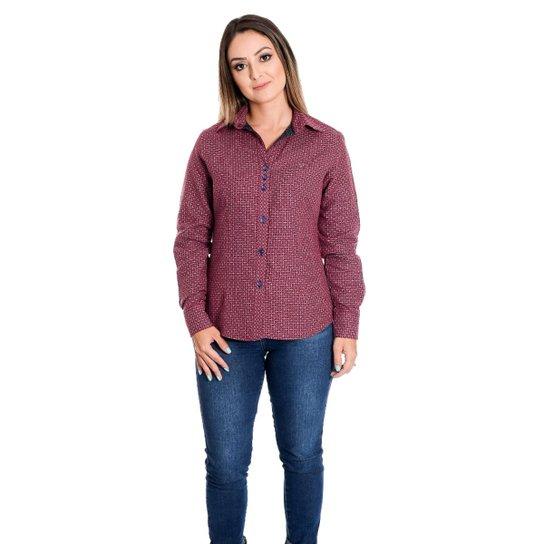 9634bc2ea0 Camisa Pimenta Rosada Belle - Vermelho - Compre Agora