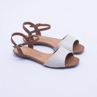 07ac1cba44 Sandálias Bottero Feminino Caramelo - Calçados