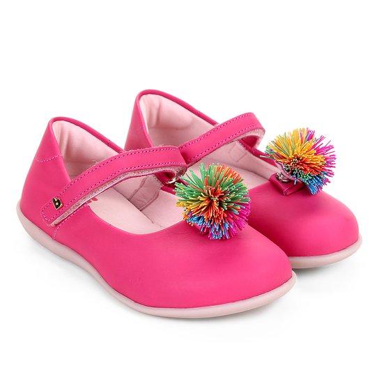 60ddad8a03 Sapatilha Infantil Bibi Pompom Menina - Rosa - Compre Agora