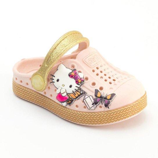 587a071dbb Babuche Infantil Plugt Hello Kitty - Compre Agora
