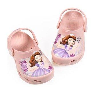 826e1aaa9 Babuche Bebê Ventor Princesa Sofia Disney Plugt Feminino