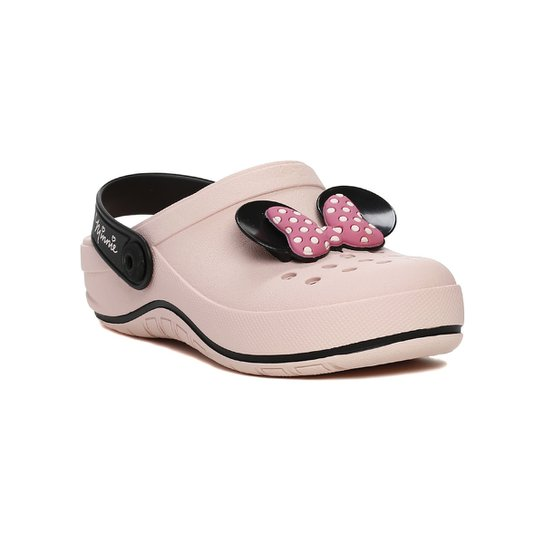 161b609352 Chinelo Babuche Infantil Disney Feminino - Rosa - Compre Agora