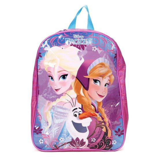 7ade3b0d5 Mochila Escolar Frozen Infantil Disney Feminina - Rosa | Zattini
