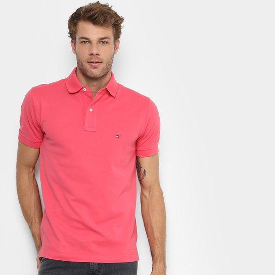 2af4fe6b677 Camisa Polo Tommy H. Piquet Regular Fit Clássica Masculina - Compre ...
